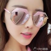 墨鏡女眼鏡成品開車偏光蛤蟆鏡太陽鏡 ciyo黛雅