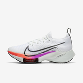 Nike W Air Zoom Tempo Next Fk [CI9924-100] 女鞋 慢跑 運動 休閒 厚底 白