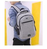 KGH168 多功能男包 USB充電後背包 旅行背包 學生背包 R3769