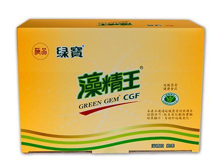 【台灣綠藻】極品綠寶藻精王滋補飲12入組加贈綠藻錠50錠