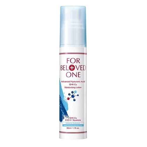 【For Beloved One 寵愛之名】多分子玻尿酸藍銅保濕乳液 50ML 效期2022.05【淨妍美肌】