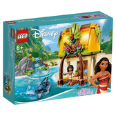 樂高 LEGO 43183 莫娜的島嶼之家