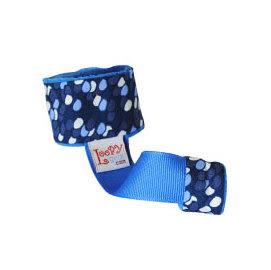 玩具綁帶 美國Loopy Gear寶寶抓緊緊 安撫玩具手腕帶-湛藍汽球飛 里和 RIHO