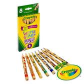 美國Crayola繪兒樂 彩色鉛筆幼兒專用8色