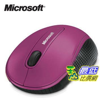 [玉山最低比價網] 微軟 滑鼠4000 (剩下黑色)/ 2.4GHz無線 BlueTrack藍光感應