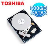 硬碟 Toshiba 東芝 3.5吋 500G B SATA3 內接硬碟 (DT01ACA050)