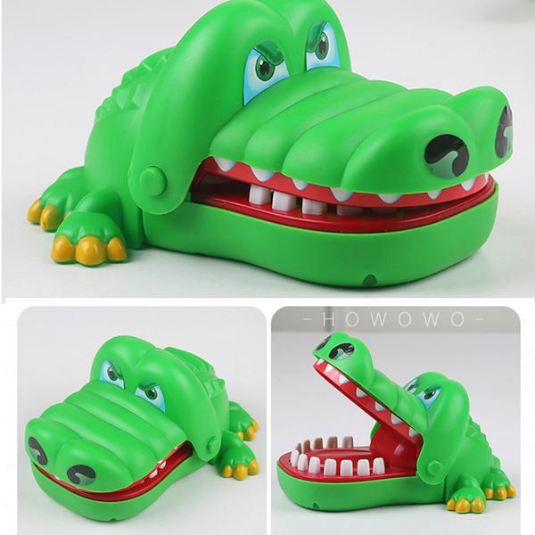 鱷魚咬手指 鱷魚看醫生 鱷魚拔牙齒 桌遊 瘋狂鱷魚咬咬樂 0766 好娃娃