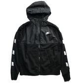 NIKE NSW 黑色 刷毛 串標 連帽外套 男 (布魯克林) CJ4416-010