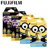 四盒組 FUJIFILM Instax Mini 小小兵底片 加送底片透明套40入 mini8 mini9