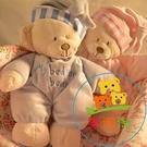 寶寶安睡熊公仔寵物毛絨玩具狗狗玩具抱枕不發聲安撫玩偶 樂淘淘
