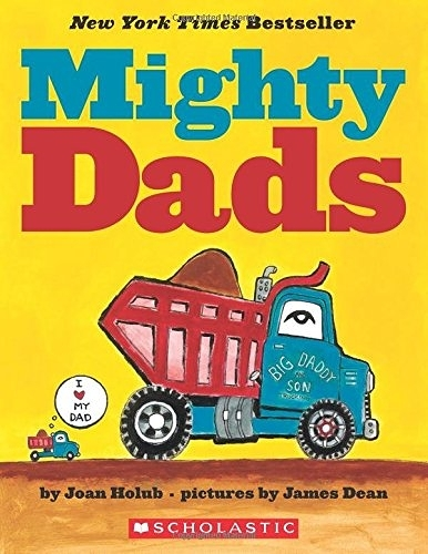 MIGHTY DADS /硬頁書《主題:父親節.交通工具》# New York Times Bestseller