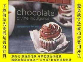 二手書博民逛書店CHOCOLATE:罕見DIVINE INDULGENCE (1