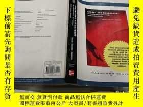 二手書博民逛書店OPERATIONS罕見MANAGEMENT(運營管理)外文版.