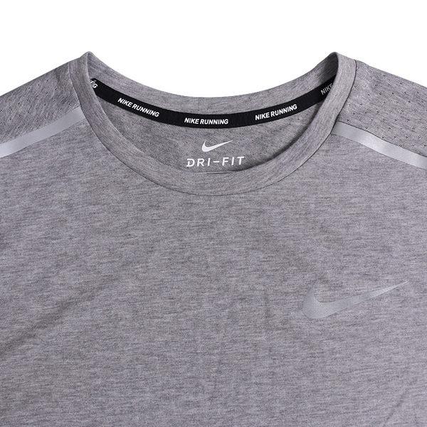 Nike Dri-Fit Rise 365 男 灰 短袖 運動上衣 Dri-FIT 排汗 乾爽 快乾 反光 Breathe 892814036