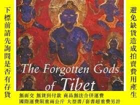 二手書博民逛書店【罕見】Forgotten Gods of Tibet: Tab