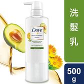 多芬日本植萃防斷髮柔韌洗髮露酪梨精萃500g