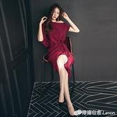 夏新款女性感氣質女神范衣服高端名媛洋裝輕熟風女人味裙子