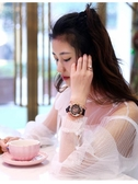 時來運轉手錶女星空網紅同款鉆韓版學生防水2020韓版時尚潮流女士  魔法鞋櫃