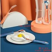 兒童不銹鋼叉勺套裝寶寶學吃飯訓練勺子叉子餐具嬰兒輔食碗勺【齊心88】