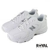 New balance 878 白色 皮質 運動休閒鞋 男女款 NO.B1717【新竹皇家 MR530ELB】