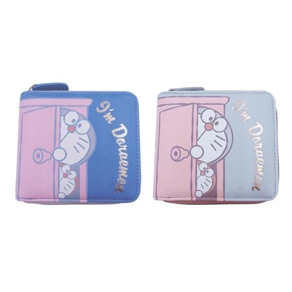 【南紡購物中心】日本限定ARDIE鈔票零錢包Doraemon哆啦A夢錢包I'M便攜皮夾DRA8-1短夾合成皮夾