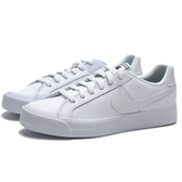 NIKE COURT ROYALE AC 全白 小白鞋 學生鞋 皮革 休閒鞋 女(布魯克林) AO2810-102