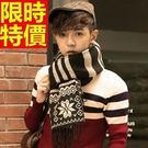 針織圍巾毛線羊毛-雪花民族風秋冬保暖圍脖3色64t9【巴黎精品】