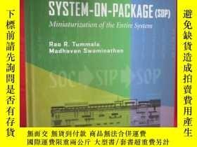 全新書博民逛書店Systemon Package: Miniaturizatio