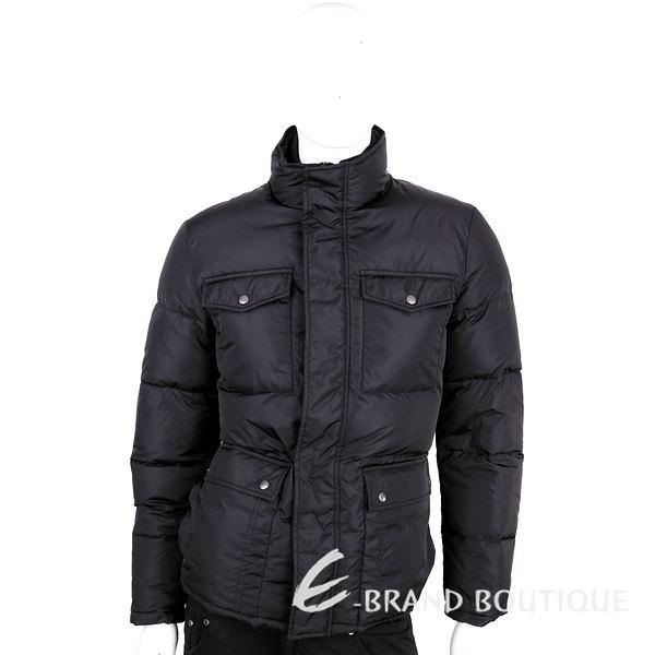 GUCCI 黑色口袋設計羽絨外套 1510623-01