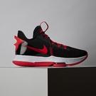 Nike Lebron Witness V EP 男 黑紅 包覆 緩震 運動 籃球鞋 CQ9381-005