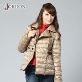Jordon 羽絨外套 女 金色 防風│防潑水│保暖│羽絨衣 J442