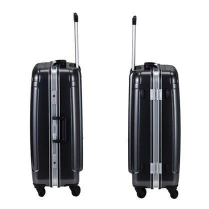 COSSACK PRACTICAL 1實質系列 極輕量鋁框 行李箱/旅行箱28吋-碳灰-