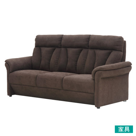 ◎布質3人用沙發 ALTA KD DBR NITORI宜得利家居
