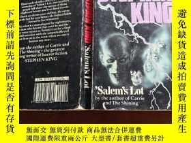 二手書博民逛書店 Salem s罕見Lot (斯蒂芬·金小說《撒冷鎮》英文原版)
