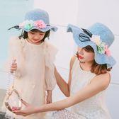 帽子女夏遮陽帽休閒百搭太陽帽沙灘帽