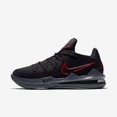 Nike Lebron Xvii Low Ep [CD5006-001] 男鞋 運動 休閒 籃球 低筒 詹姆斯 黑 紅