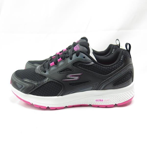 Skechers GO RUN CONSISTENT 女慢跑鞋 寬楦 128075WBKPK 黑粉【iSport愛運動】