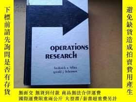 二手書博民逛書店Operations罕見Research(精裝英文原版)6504