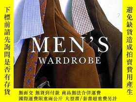 二手書博民逛書店Men s罕見Wardrobe (chic Simple)Y256260 Kim Johnson Gross
