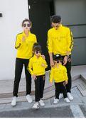 親子裝 親子裝一家三口四口母子母女全家裝運動套裝潮  瑪麗蘇