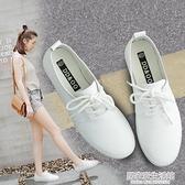新款平底休閒小白鞋女鞋百搭網紅板鞋女2020年秋季爆款軟皮白鞋子  聖誕節免運