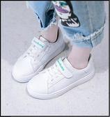 童鞋女童小白鞋2018新款韓版透氣春秋兒童運動鞋子女孩板鞋百搭潮【一條街】