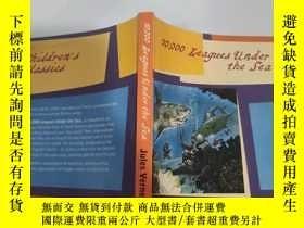 二手書博民逛書店20,000罕見leagued under the sea 兩萬人在海底聯盟Y200392
