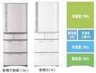 ((福利電器))日立 HITACHI  557L 1級變頻日本原裝5門電冰箱 RS57GJW(白)SN(香檳不銹鋼)全新出清