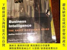 二手書博民逛書店business罕見intelligence the savvy