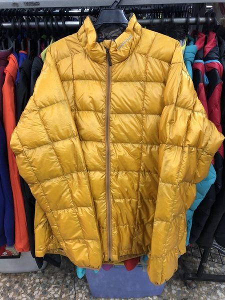 【零碼L,XL出清特價5折!】日本mont-bell 800FILL 男款 羽絨外套 1101374 黃金黃