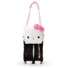 【震撼精品百貨】Hello Kitty 凱蒂貓~捲筒衛生紙套-白頭黑身