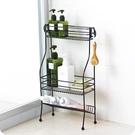 浴室洗漱臺化妝品收納架整理架衛生間落地式多層鐵藝置物架儲物架Mandyc