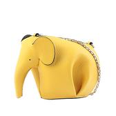 【LOEWE】經典小牛皮小象造型迷你包(黃色) C623R02.X01 6520