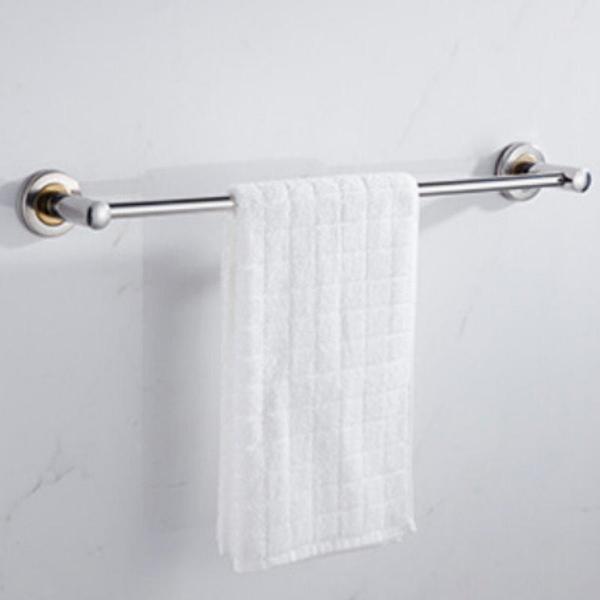 【GD415A】不銹鋼毛巾架-單桿60CM 廚房掛架 毛巾桿 浴巾架 EZGO商城
